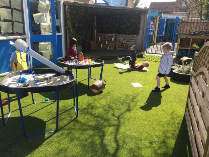 Artificial Grass Playground