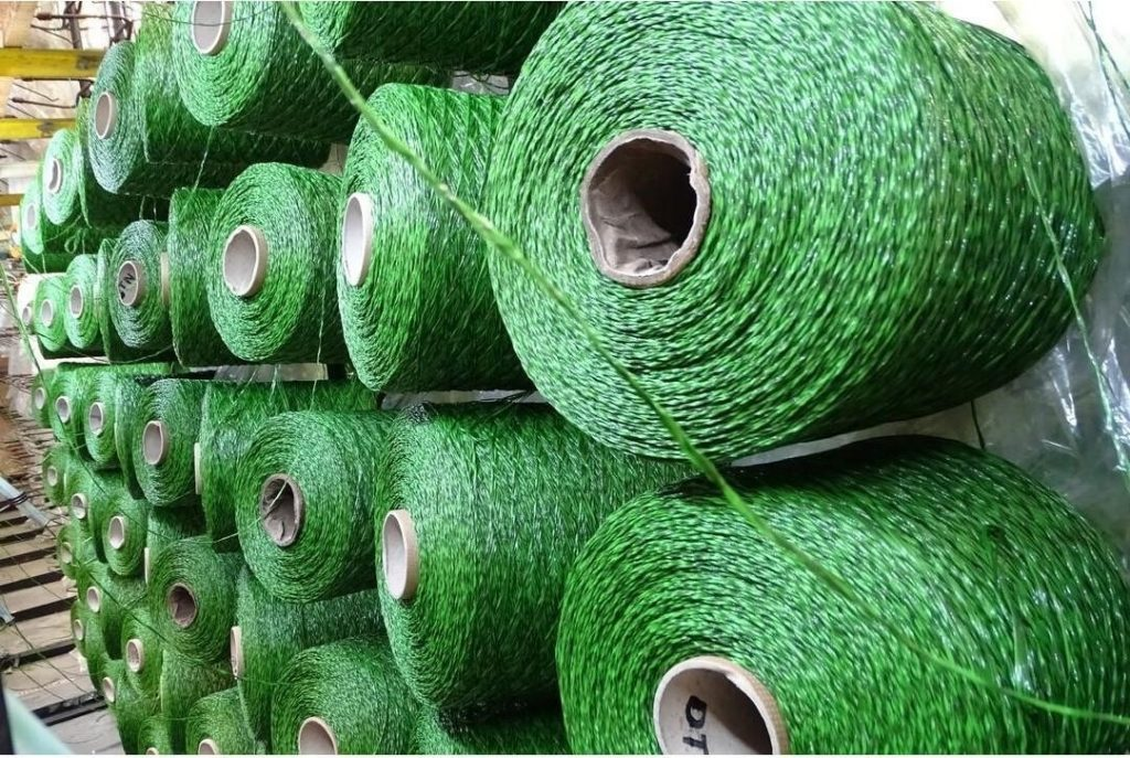 Yarn from factory